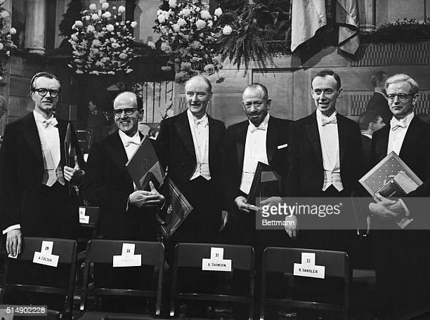 NOBEL AWARDS DISTRIBUTIONS 1962The traditional Nobel festivities are taking place today December 10th 1962 in Stockholm under the observance of the...