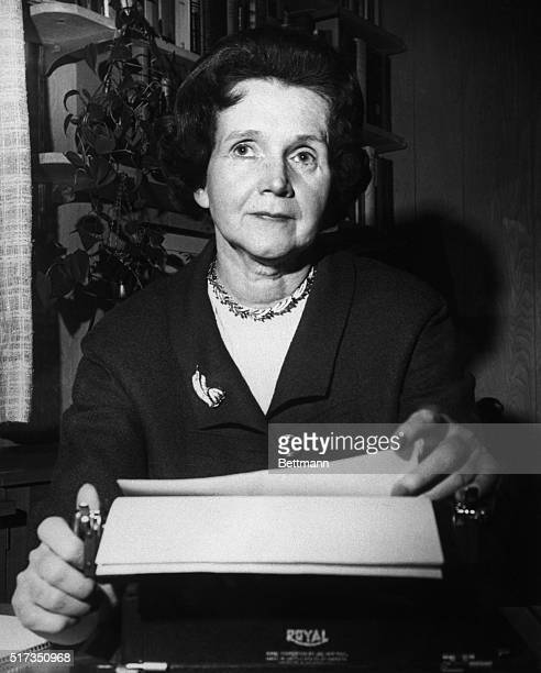 "Washington, D.C.: Rachel Carson stirred up a roaring national controversy with her last book, ""Silent Spring."" Now living quietly in a suburban..."