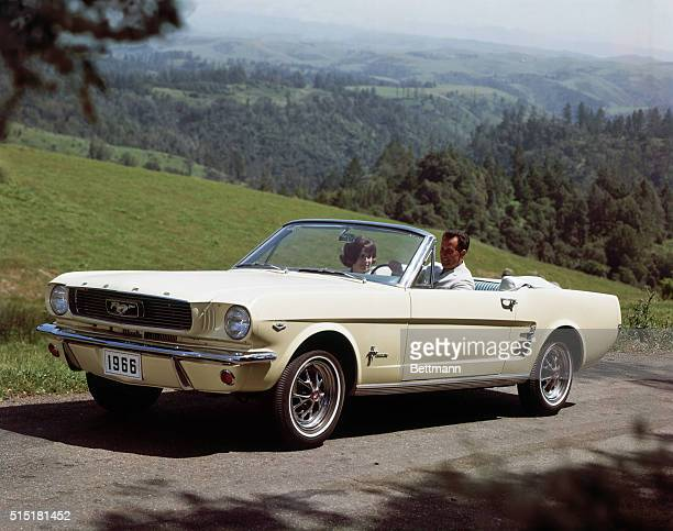 1965Detroit Michigan 1966 Ford Mustang Convertible