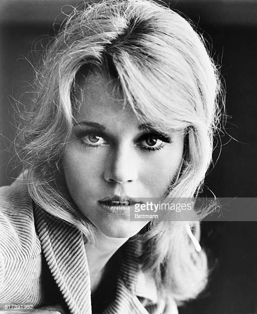 1965Jane Fonda is shown in this closeup publicity handout