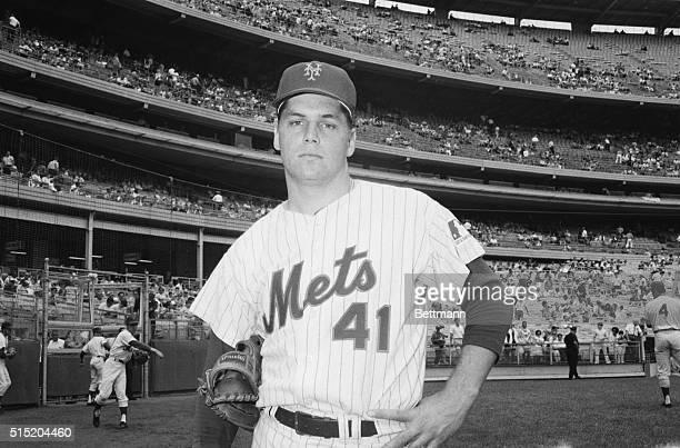 New York, New York-Tom Seaver, pitcher, New York Mets.