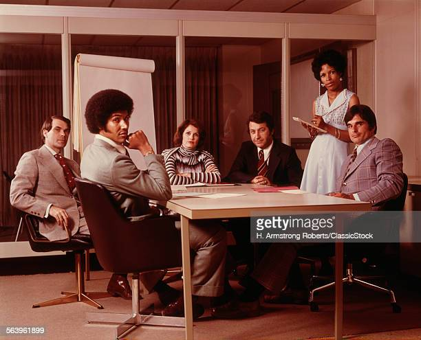1970s 6 BUSINESS PEOPLE...