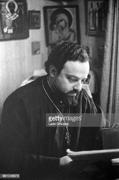 Alexander Vladimirovich Men Russian Orthodox priest theologian and Biblical scholar persecuted by the KGB and murdered in unexplained circumstances...