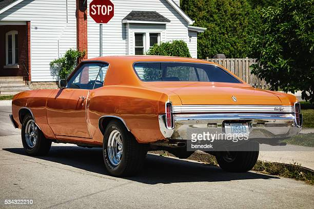 1970s chevrolet monte carlo - monte carlo stock pictures, royalty-free photos & images