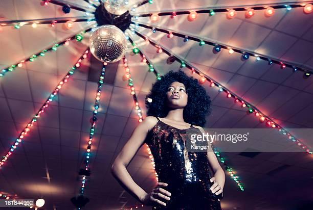 1970s Disco Woman