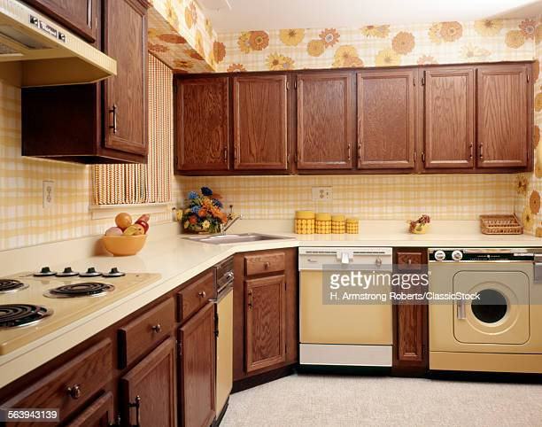 1970s KITCHEN INTERIOR...