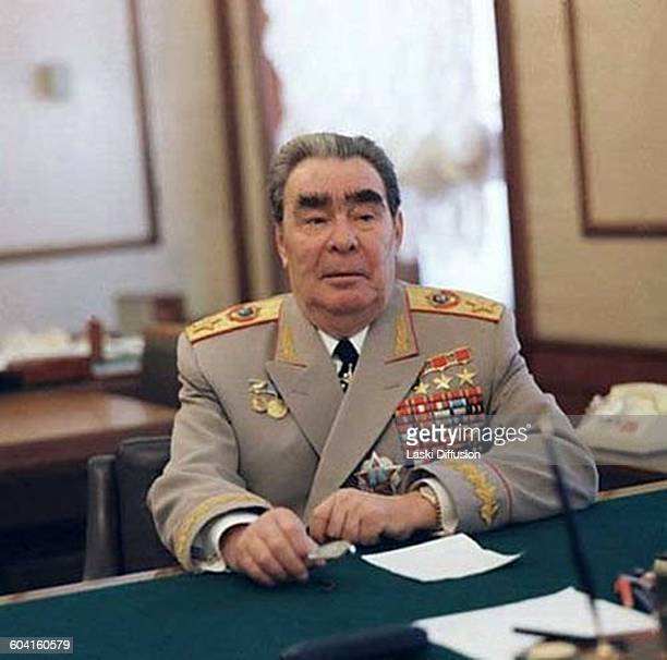 Leader of the Soviet Union Leonid Brezhnev in late 1970s