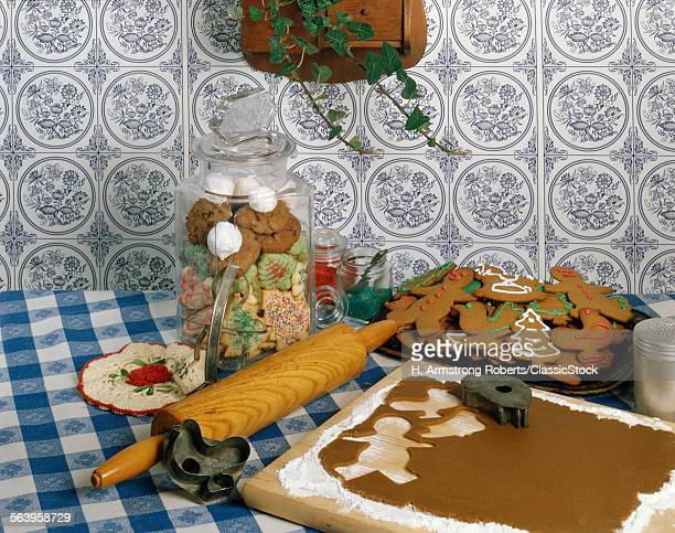 1970s MAKINGS FOR CHRISTMAS COOKIES