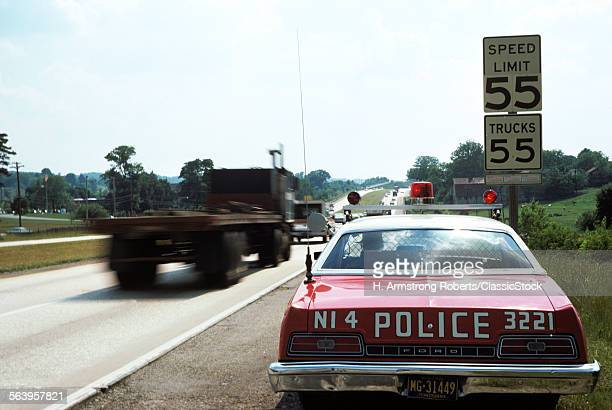 1970s POLICE CAR WITH...