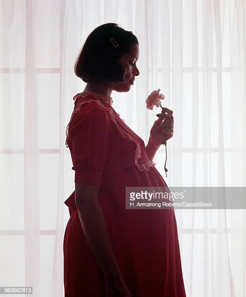 1970s SILHOUETTE OF...
