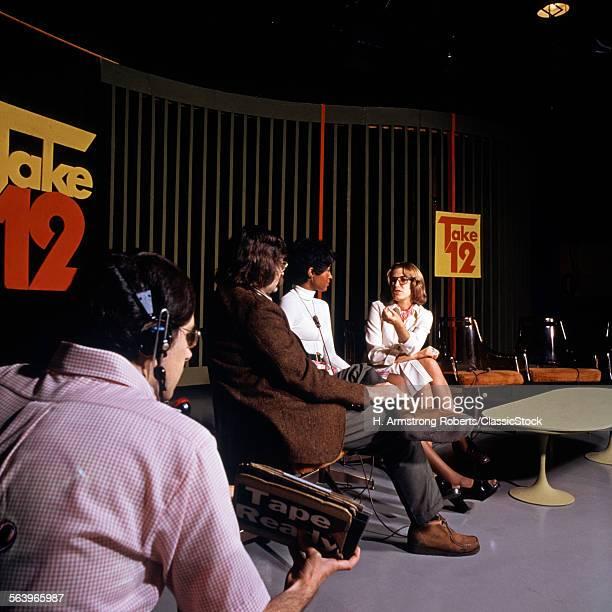 1970s TELEVISION STUDIO...