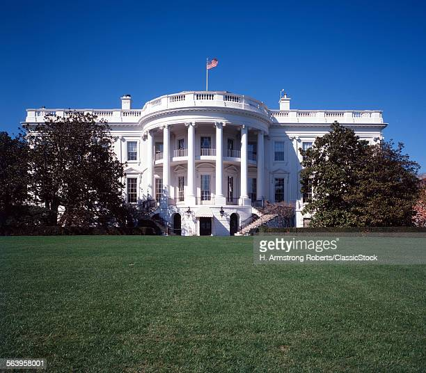 1970s THE WHITE HOUSE WASHINGTON DC USA