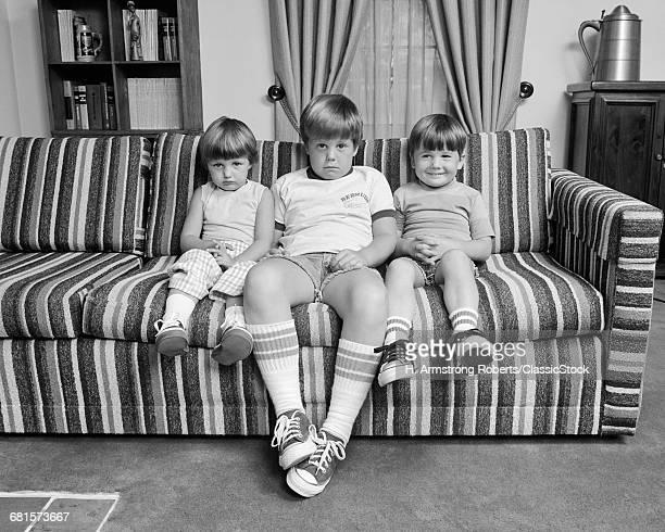 1970s THREE SIBLINGS...