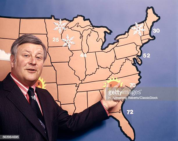 1970s TV WEATHERMAN...