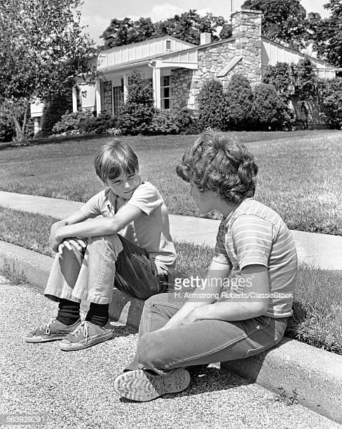 1970s TWO EARLY TEENAGE...