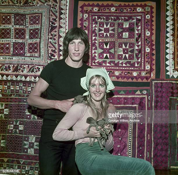 Rock musician Roger Waters photographed with his first wife Judy Trim In 1965 Waters cofounded the progressive rock band Pink Floyd with drummer Nick...