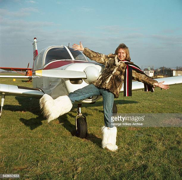 Alan Williams lead singer with pop group The Rubettes with his private plane The Rubettes' first and biggest hit was Sugar Baby Love which was a...