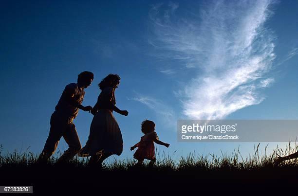 1980s ANONYMOUS FAMILY...