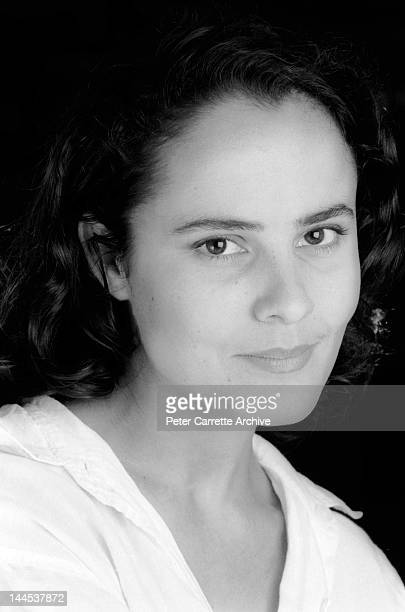 Australian actress Rebecca Rigg poses during a photo shoot in the late 1980s in Sydney Australia