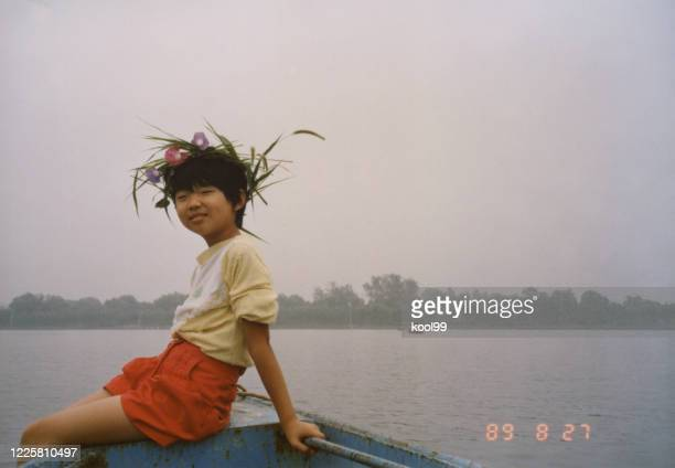 1980s china little girl photos of real life - 1980 1989 stock pictures, royalty-free photos & images