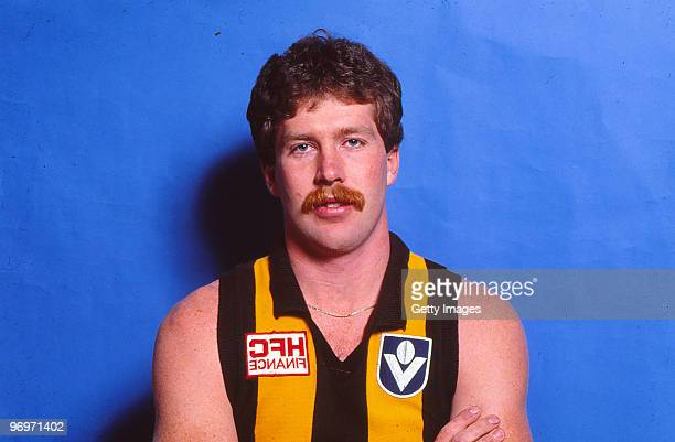 Chris Mew of the Hawthorn Hawks poses in Melbourne Australia