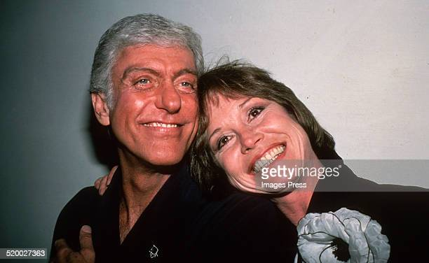 Dick Van Dyke and Mary Tyler Moore circa 1980s in New York City