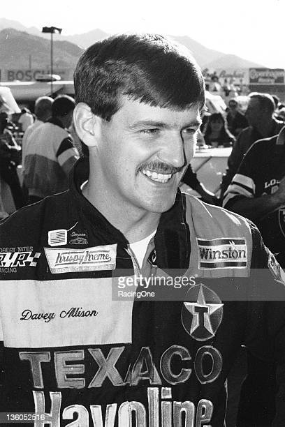 Driving Fords for Harry Ranier and Robert Yates Racing from 1985 through 1993 Davey Allison of Hueytown AL ran 191 NASCAR Cup races winning 19 events...