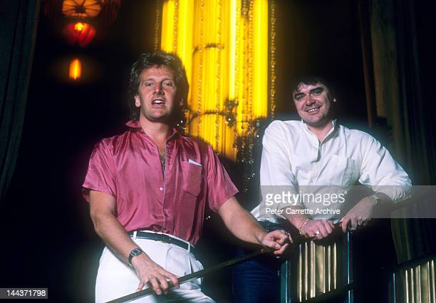 Graham Russell and Russell Hitchcock from the Australian rock group 'Air Supply' in the 1980s in Sydney Australia