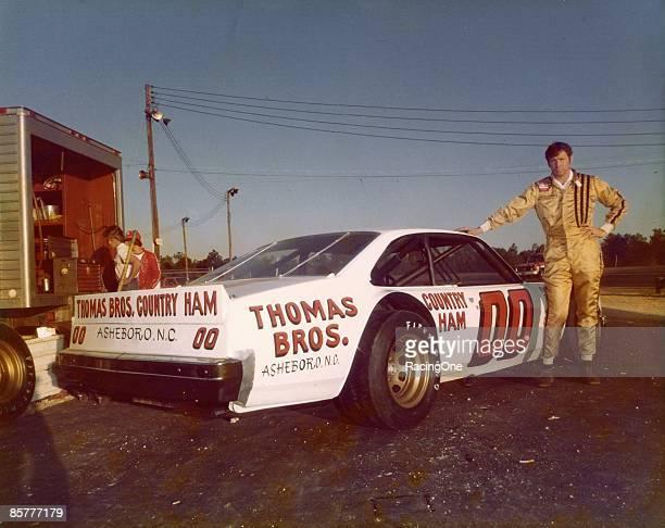 Sam Ard with his NASCAR short track sportsman car