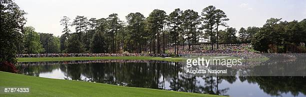 The Par 3 Tournament during a 1980s Masters Tournament at Augusta National Golf Club in Augusta Georgia