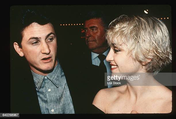 1986Photo shows Madonna and Sean Penn attending a function