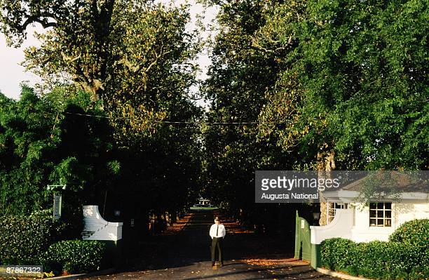 Augusta National Front Gate Stock Photos And Pictures Getty Images