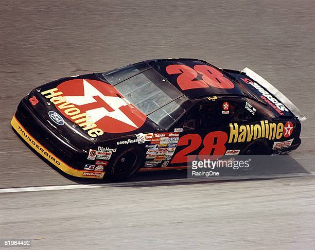 Davey Allison competed in NASCAR from 198593 managing 19 wins He died in a helicopter crash in July 1993