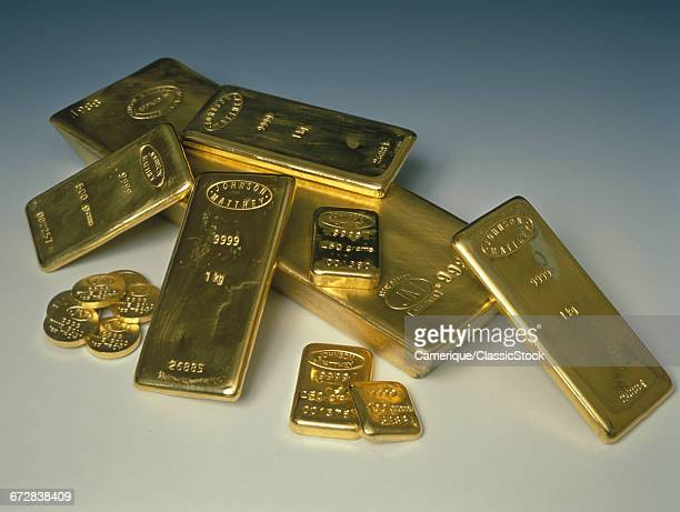 1990s GOLD INGOTS AND COINS