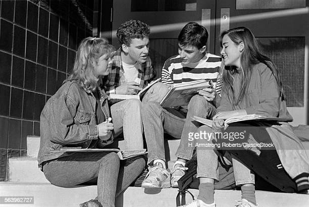1990s HIGH SCHOOL STUDENTS...