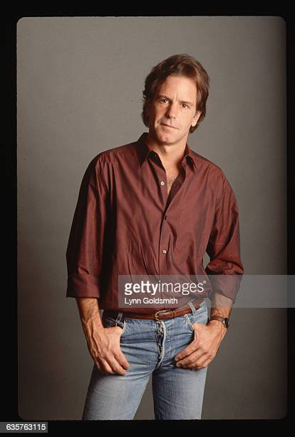 1991Bob Weir member of the rock and roll group The Grateful Dead is shown in this studioposed 3/4 length photograph