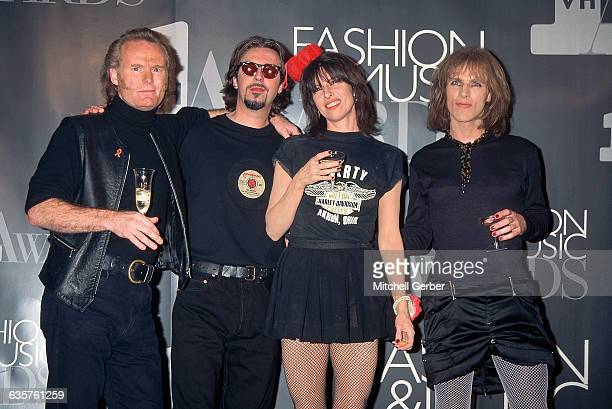New York, NY: Portrait of The Pretenders posing at the VH-1 Fashion and Music Awards.