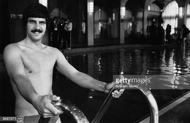 Mark Spitz who won seven gold medals for swimming in the 1972 Munich Olympic Games