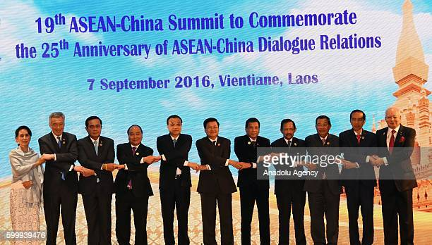 19th ASEANChina Summit to Commemorate the 25th Anniversary of ASEANChina Dialogue Relations is held at the National Congress Center as the...