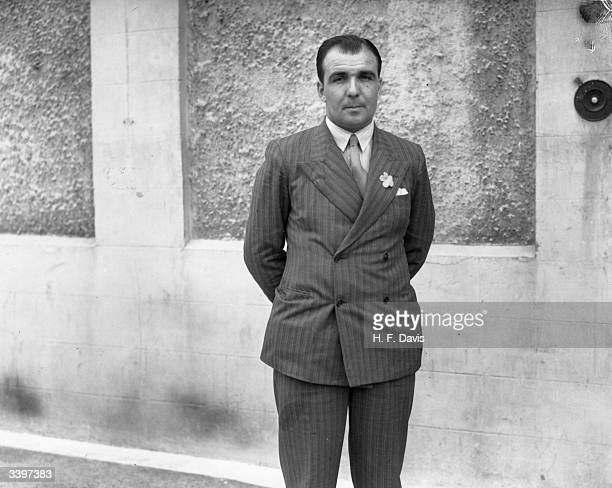 Cricketer Leslie Ames in London