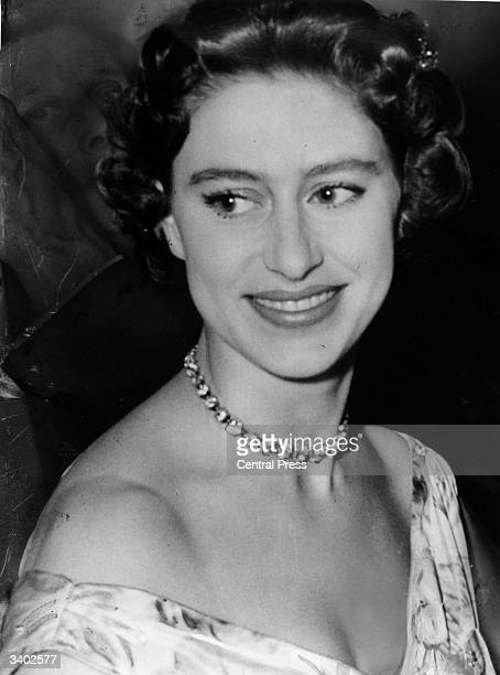 Princess Margaret at a charity ball in London