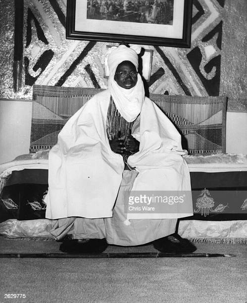 Abubakar Tafawa Balewa Emir of Kano Northern Nigeria premier of the Northern People's Congress shortly before Nigerian independence