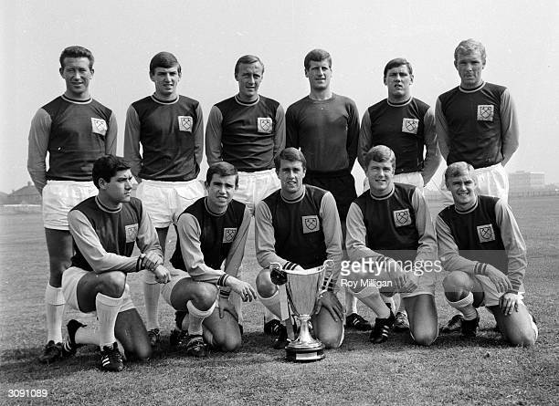 West Ham Football Club team winners of the European Cup Winners Cup Members include Bob Crozier D Walker manager Ron Greenwood Stephen Death Barry...