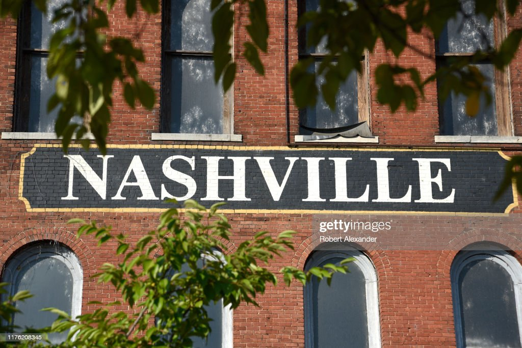 Nashville, Tennessee, city street scenes : News Photo
