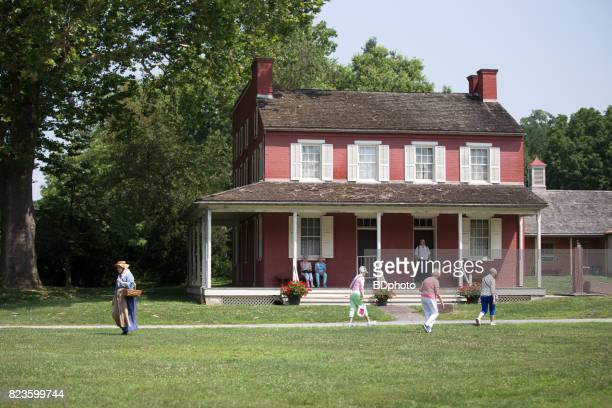 19th century buildings in lancaster, pa - lancaster county pennsylvania stock pictures, royalty-free photos & images