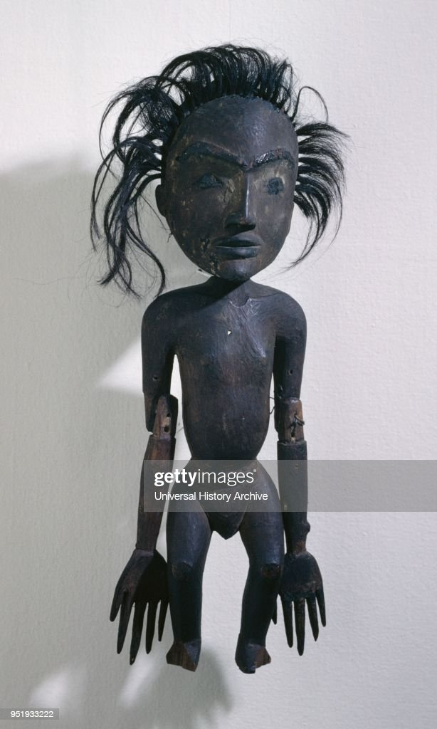 19th century canadian inuit eskimo wooden figure pictures getty