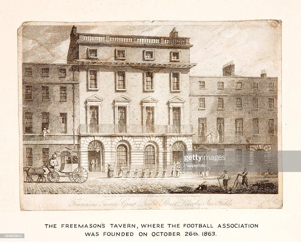 Freemason's Tavern - Birthplace Of The Football Association : News Photo