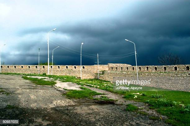 19th century fortification the Shushi built to stop invading the Turks is seen May 4, 2004 in Nagorno-Karabakh, Azerbaijan. Today these...