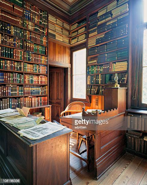 Bibliothek aus dem 19. Jahrhundert (XXL