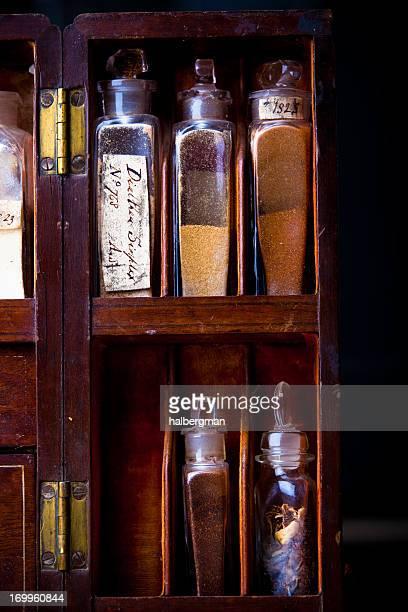 Pillen aus dem 19. Jahrhundert